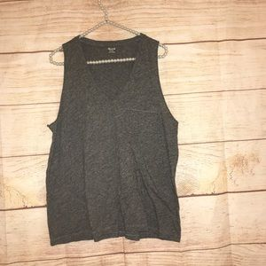 🎃Madewell size XL gray tank top
